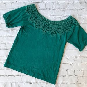 American Eagle Emerald Green Blouse XS